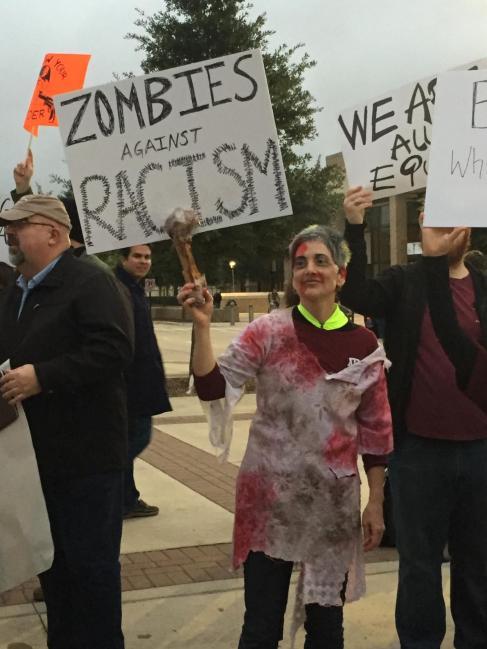 Zombies v Racism Teaching